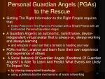 personal guardian angels pgas to the rescue