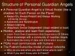 structure of personal guardian angels