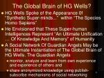the global brain of hg wells