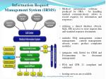 information request management system irms