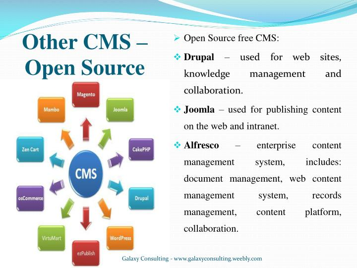 Other CMS – Open Source