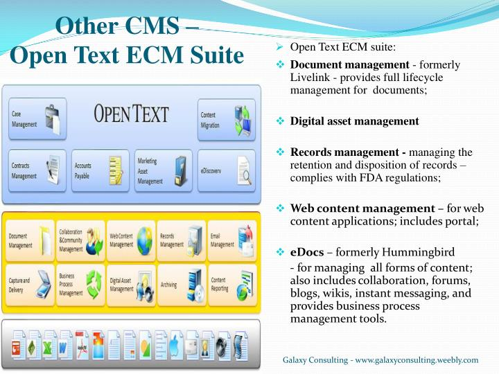 Other CMS –