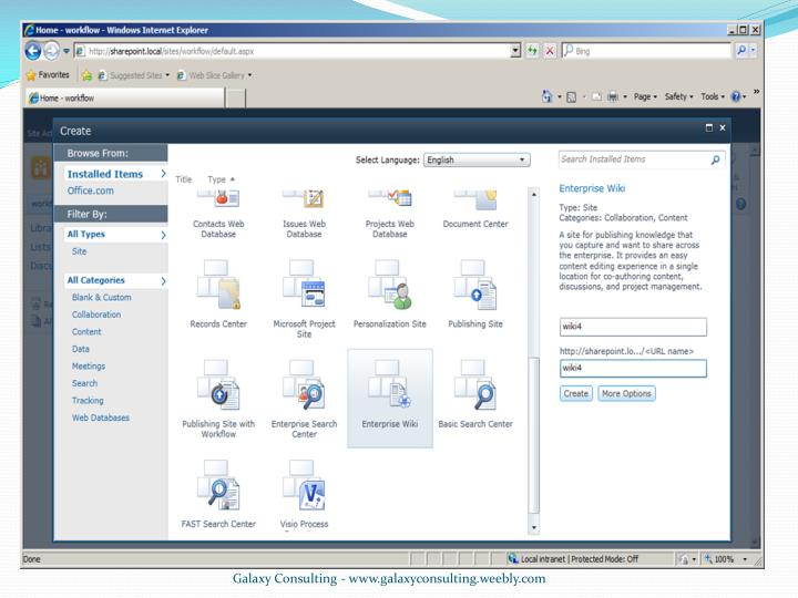 Galaxy Consulting - www.galaxyconsulting.weebly.com