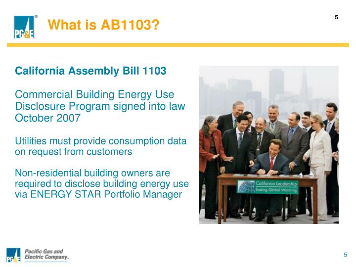 What is AB1103?