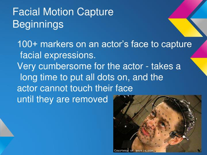 Facial Motion Capture Beginnings