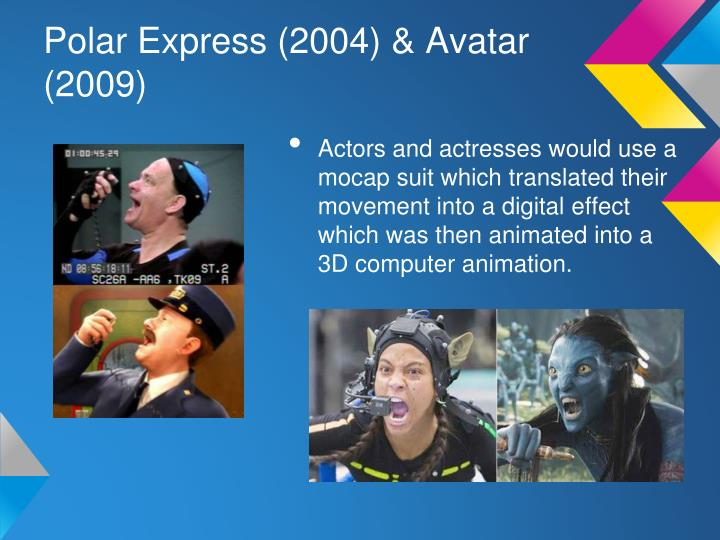 Polar Express (2004) & Avatar (2009)