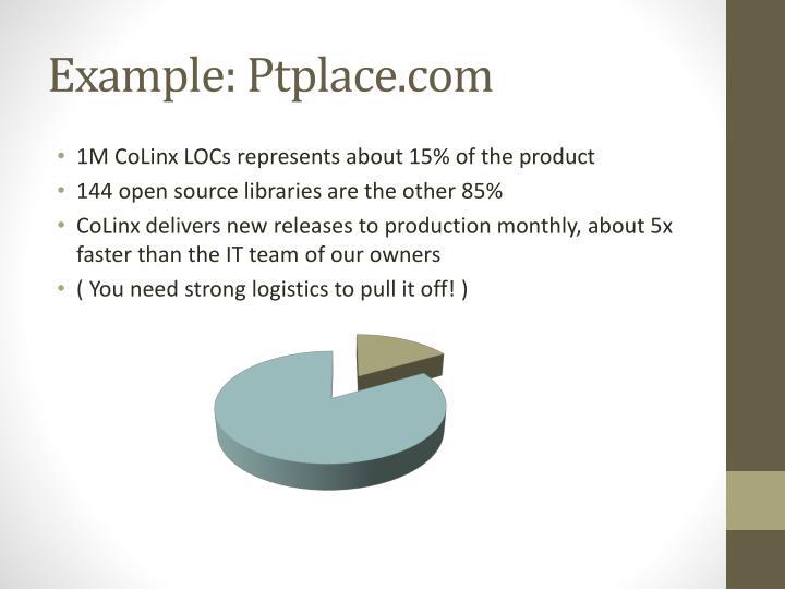 Example: Ptplace.com