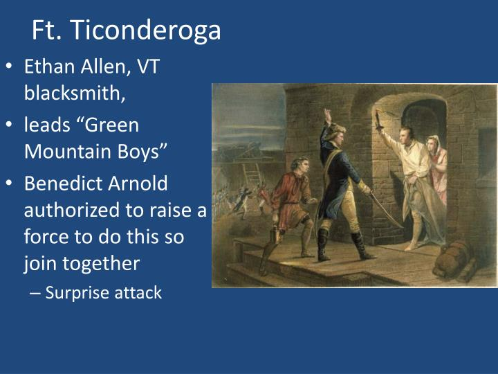 Ft. Ticonderoga