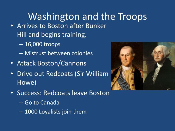 Washington and the Troops