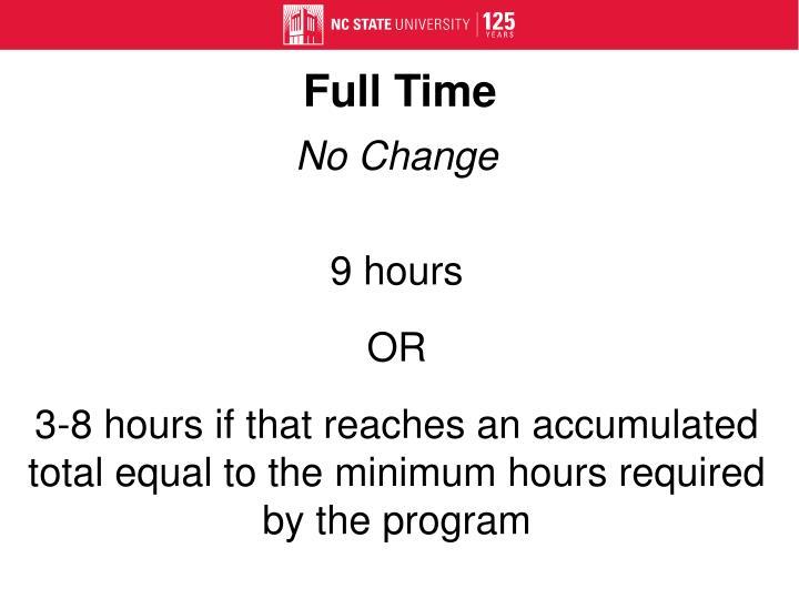 Full Time