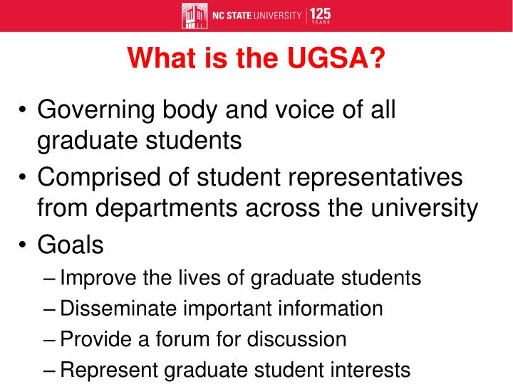 What is the UGSA?