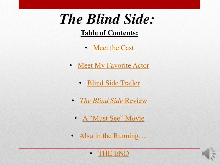 The Blind Side: