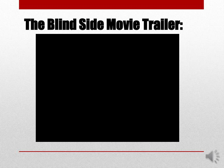 The Blind Side Movie Trailer: