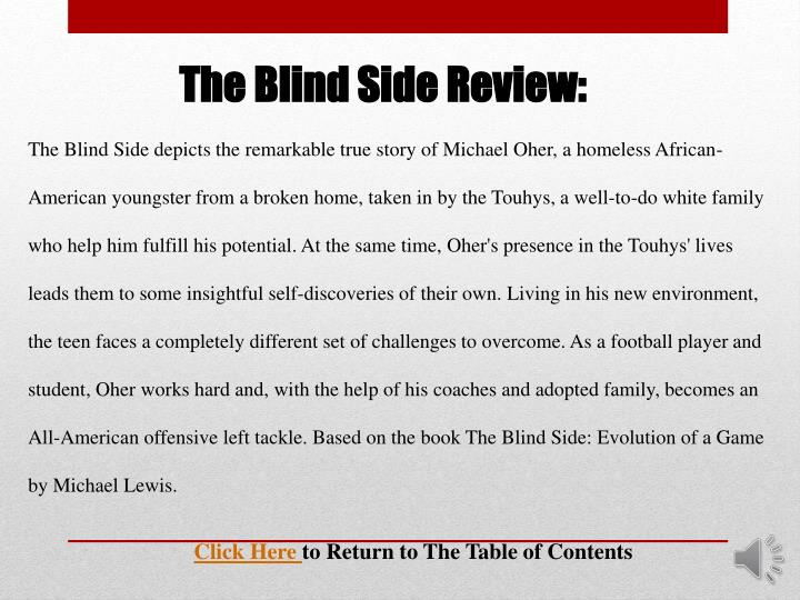 The Blind Side Review: