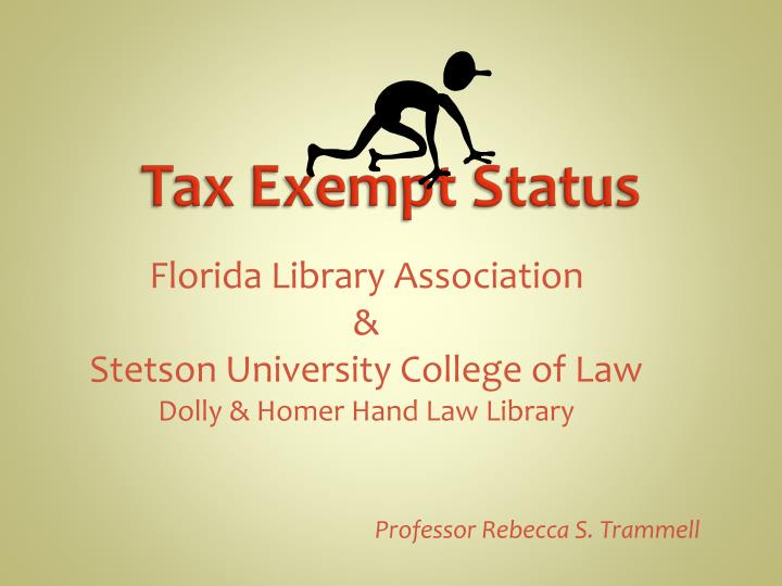 Florida library association stetson university college of law dolly homer hand law library