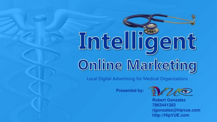 Intelligent online marketing
