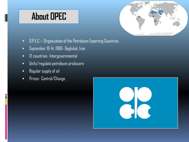 About opec