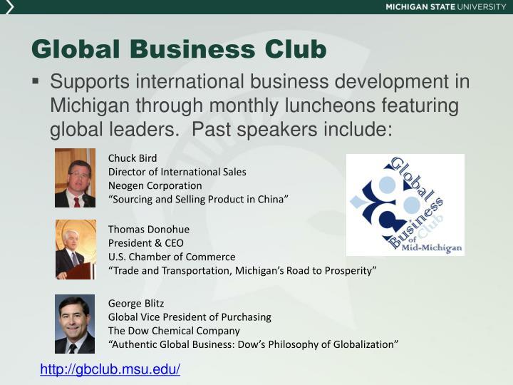 Global Business Club