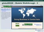 globaledge module walkthrough 3