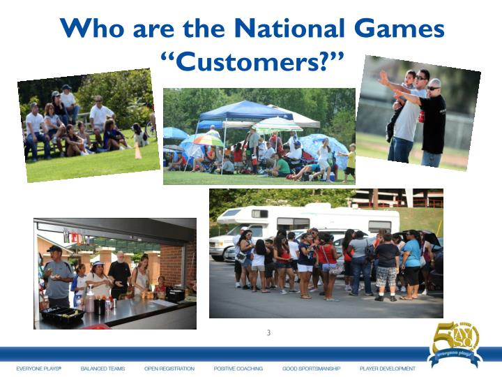 Who are the National Games
