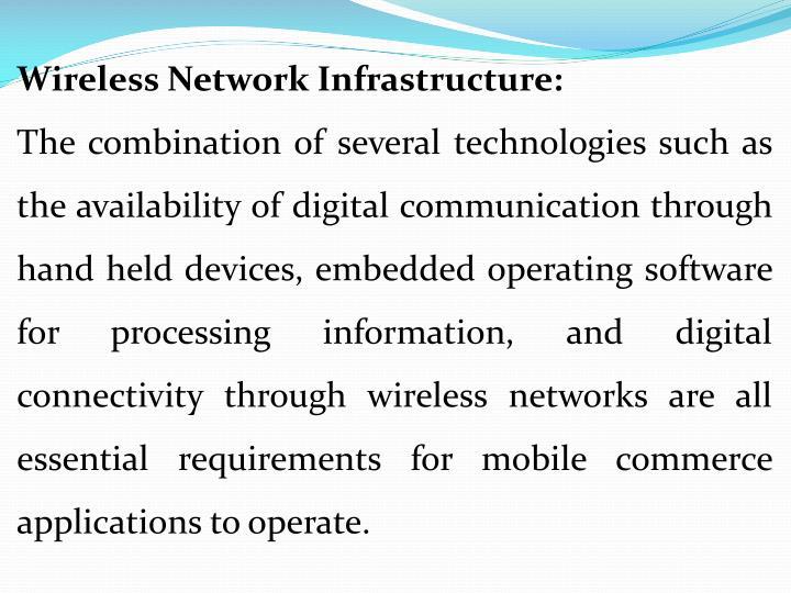 Wireless Network Infrastructure: