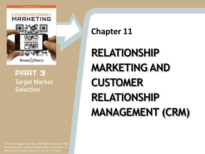 paper presentation on relationship marketing