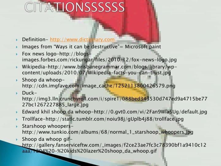 CITATIONSSSSSS