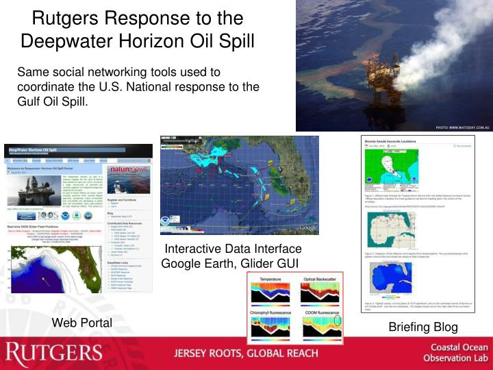 Rutgers Response to the Deepwater