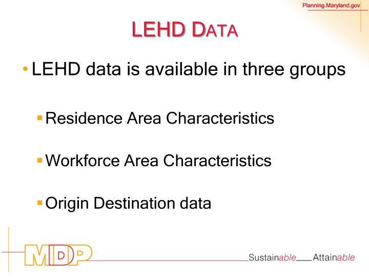 LEHD Data