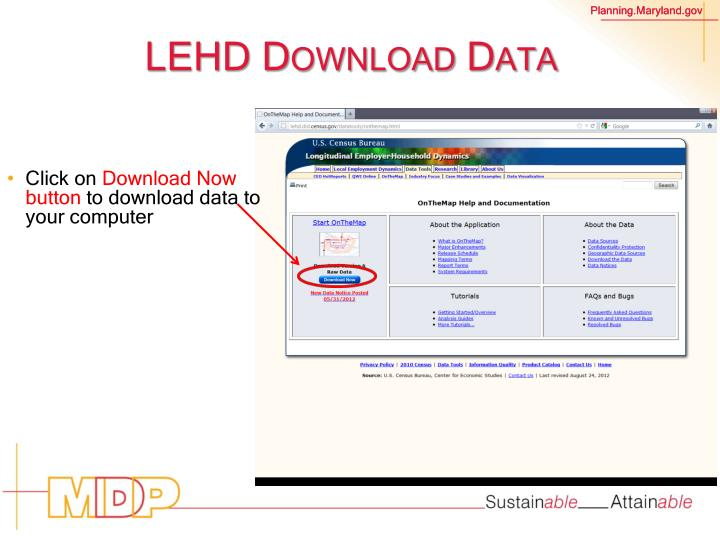 LEHD Download Data