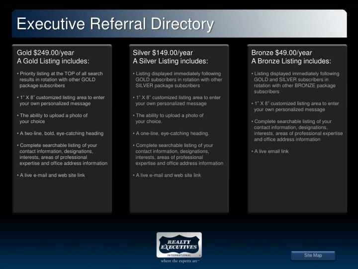 Executive Referral Directory