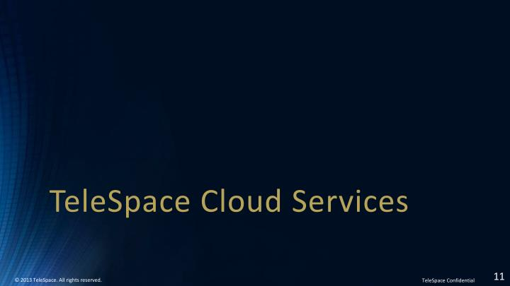 TeleSpace Cloud Services
