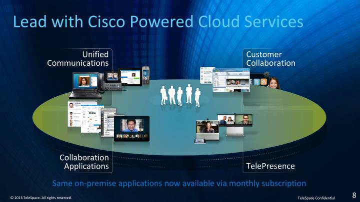 Lead with Cisco Powered Cloud Services