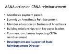 aana action on crna reimbursement