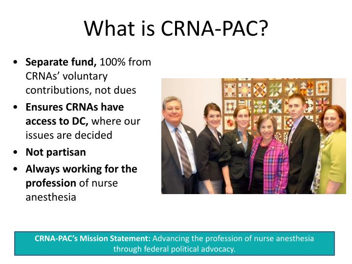 What is CRNA-PAC?