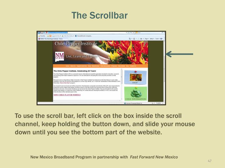 The Scrollbar