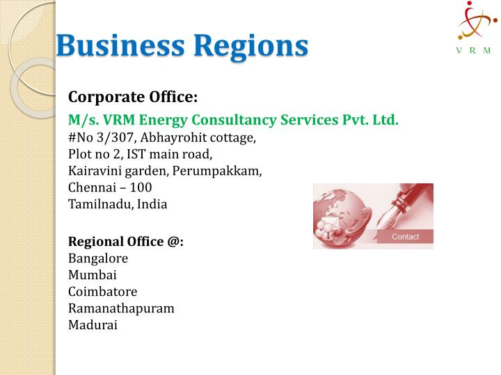Business Regions