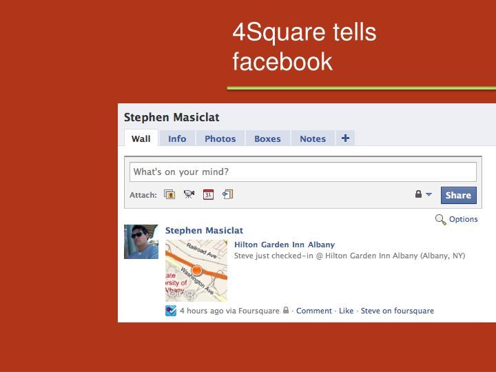4Square tells