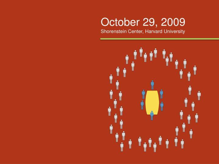 October 29, 2009