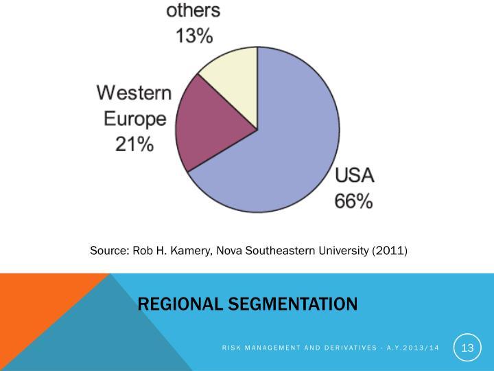 REGIONAL SEGMENTATION