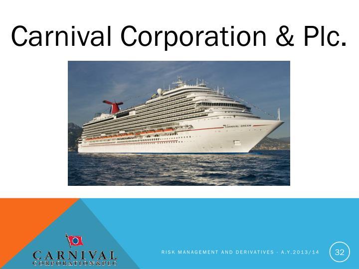 Carnival Corporation &