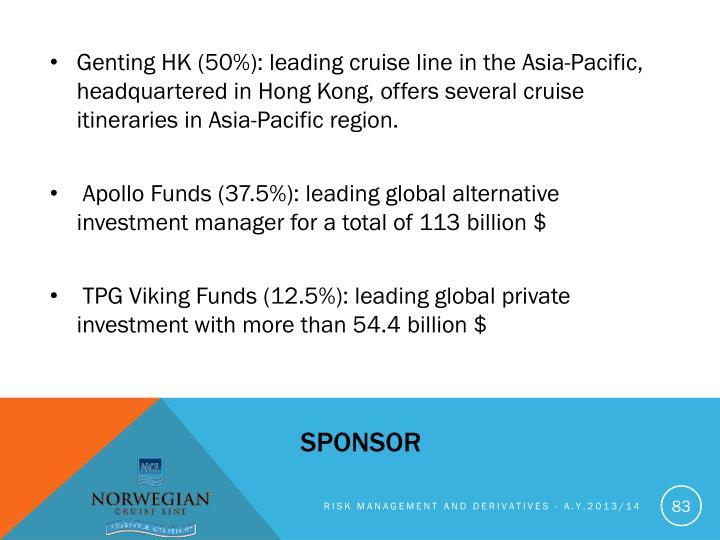 Genting HK (50%):