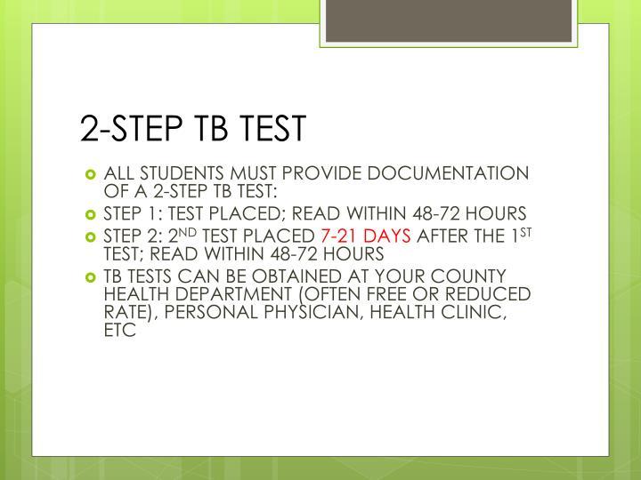 2-STEP TB TEST