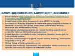 smart specialisation commission assistance
