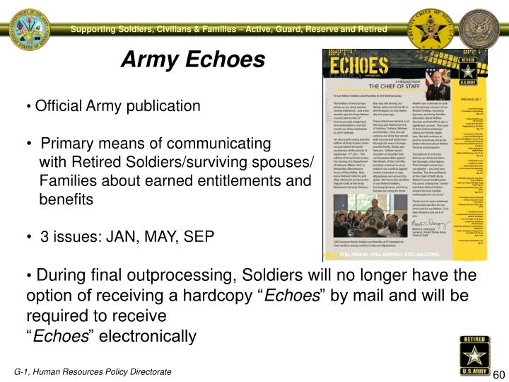 Army Echoes