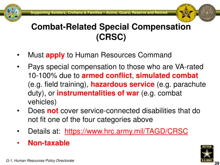 Combat-Related Special Compensation