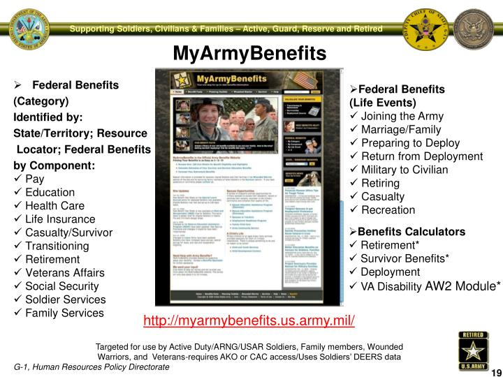 MyArmyBenefits