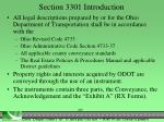 section 3301 introduction