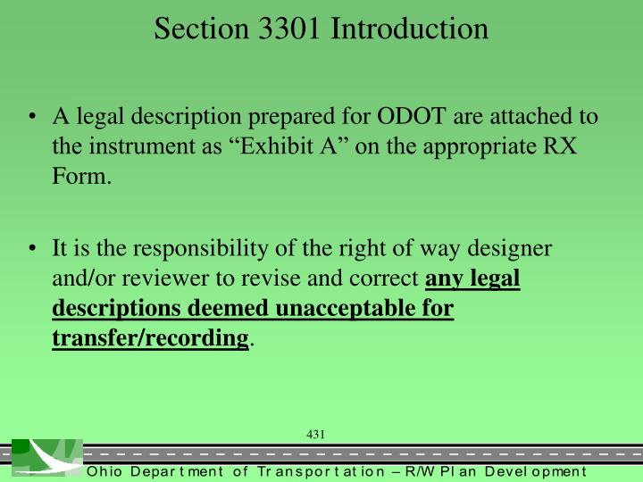 Section 3301 introduction1