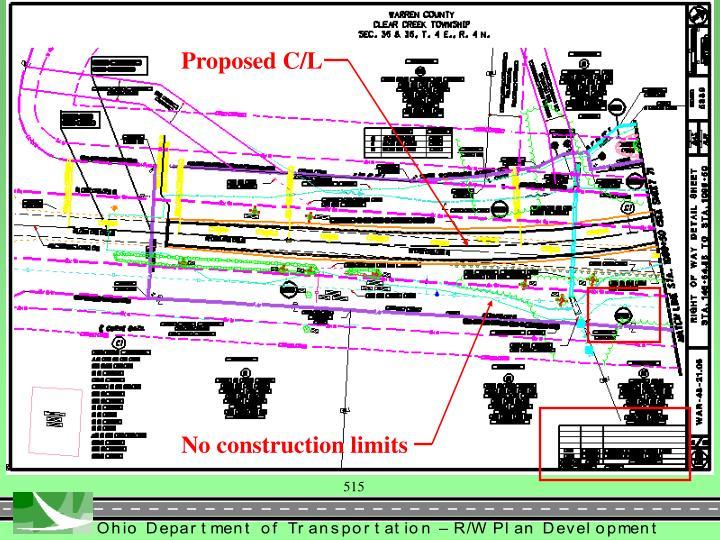 Proposed C/L